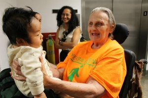 Photo of an SDA member active in our Health Action Team and Hand in Hand