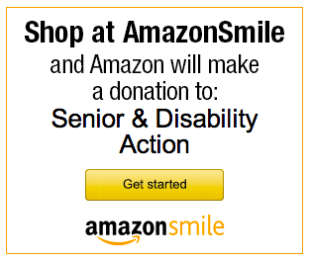 Shop at Amazon Smile and Amazon Smile will make a donation to Senior & Disability Action
