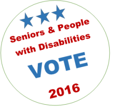 Senior disability vote